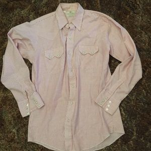 Vintage Dee Cee Striped Button Down Top